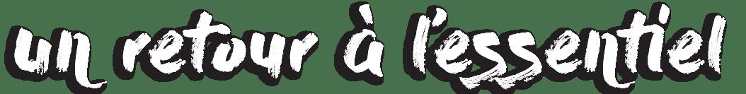 """Trek des Gazelles et son slogan """"Un retour à l'essentiel"""""""