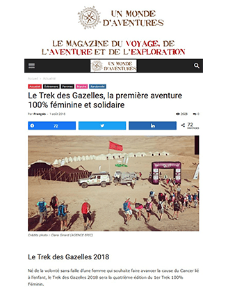 https://www.unmondedaventures.fr/le-trek-des-gazelles-la-premiere-aventure-100-feminine-et-solidaire/