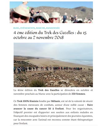 https://culturemarche.com/tag/melanie-fondatrice-du-trek-des-gazelles/